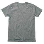 MS0302 オーガニックコットンVネックTシャツ