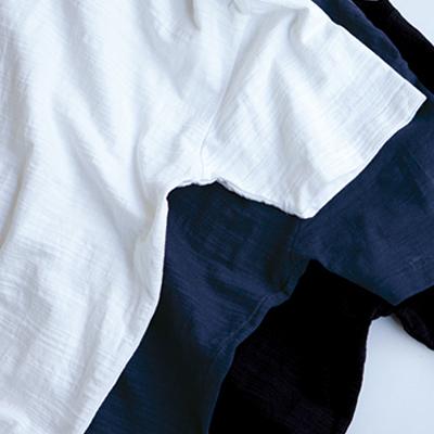 生地の厚みでTシャツを選ぼう!