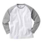 TRUSS OE-1212 オープンエンド ラグラン ロングスリーブTシャツ