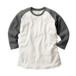 TRUSS TQS-122 トライブレンド ラグラン7分袖Tシャツ